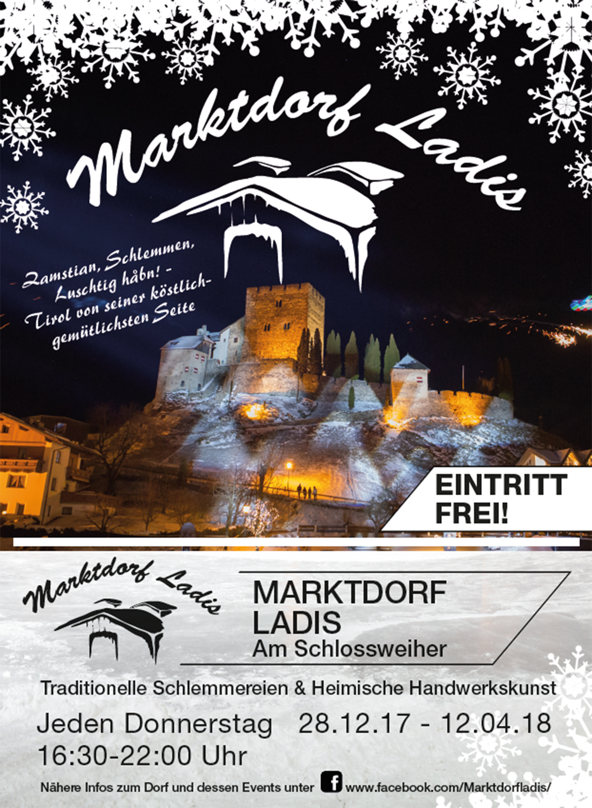 Flyer Marktdorf Ladis