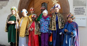 Sternsinger in Ladis